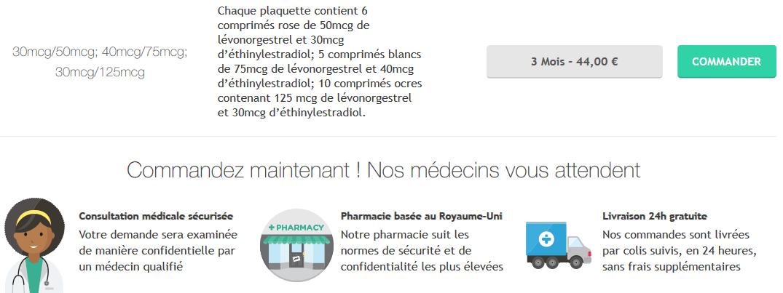 pilule daily gé prix