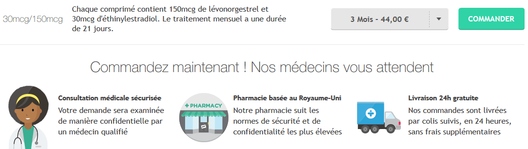 pilule adepal prix