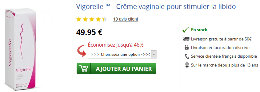 acheter vigorelle