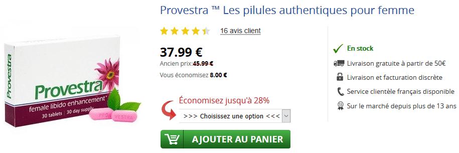 provestra prix