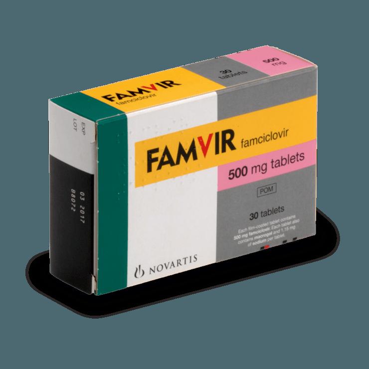 famciclovir 500 mg